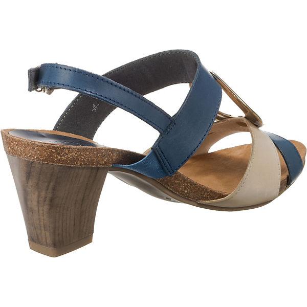 CAPRICE, Klassische Gute Sandaletten, blau-kombi  Gute Klassische Qualität beliebte Schuhe 23c234