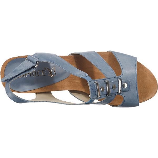 CAPRICE Sandaletten CAPRICE Sandaletten Sandaletten blau blau blau Klassische CAPRICE Klassische Klassische CAPRICE Sandaletten Klassische blau AXtqz