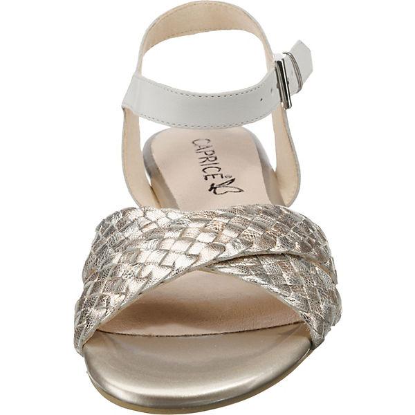 CAPRICE, Komfort-Sandalen, weiß-kombi  Gute Schuhe Qualität beliebte Schuhe Gute 821140