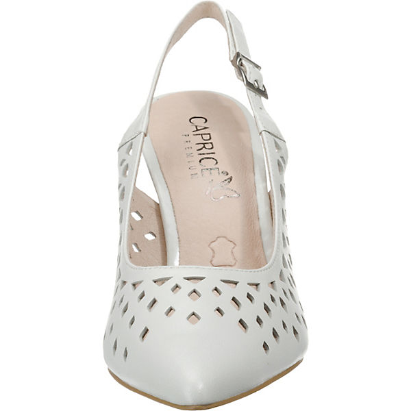 CAPRICE, Sling-Pumps, Gute weiß  Gute Sling-Pumps, Qualität beliebte Schuhe 378744