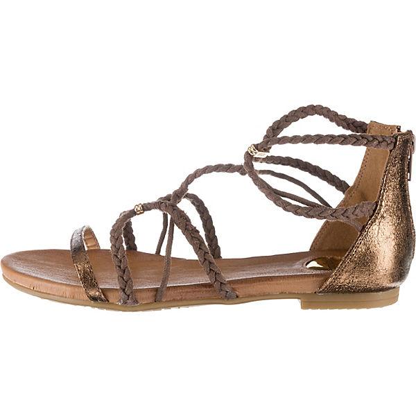 BUFFALO T-Steg-Sandalen T-Steg-Sandalen T-Steg-Sandalen bronze  Gute Qualität beliebte Schuhe 4ad907
