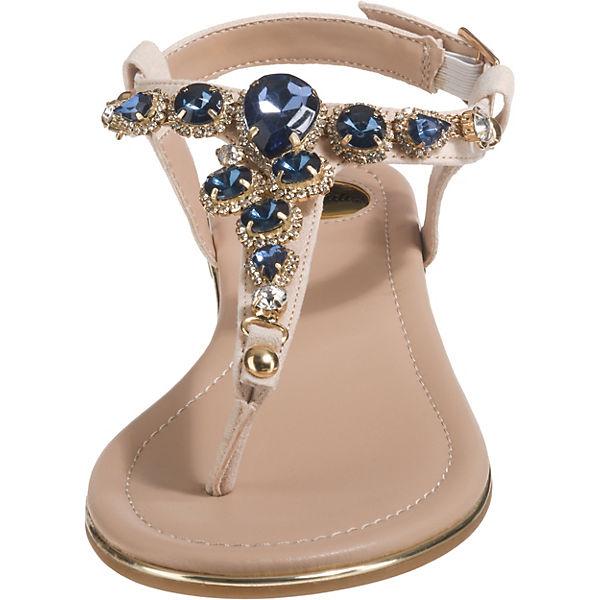 BUFFALO, T-Steg-Sandalen, beliebte nude  Gute Qualität beliebte T-Steg-Sandalen, Schuhe 11caf1