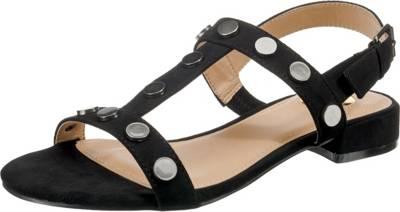 Buffalo BUFFALO T-Steg-Sandalen, schwarz, schwarz