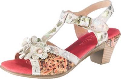 Laura Vita, Bettino 058 T Steg  Sandaletten, mehrfarbig  Steg  mirapodo 7cd31b