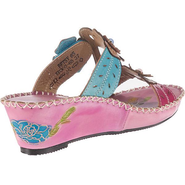 Laura Vita, Gute Betsy 65 Pantoletten, lila-kombi  Gute Vita, Qualität beliebte Schuhe 0a4af6