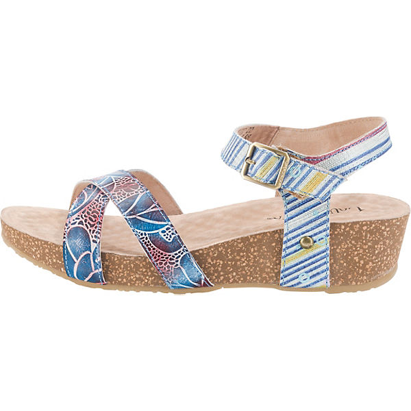 Vita Klassische Laura blau Sandaletten 02 Bingo SRwdwABq