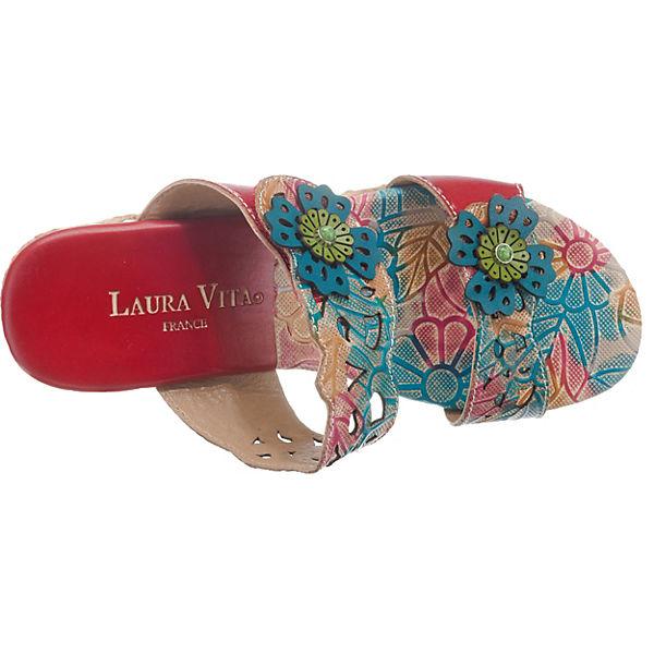 Vita Dauphin rot Laura 01 Pantoletten fdv77W