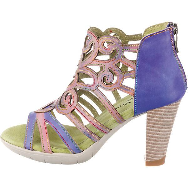 Laura Vita Donuts 05 Riemchensandaletten violett violett Riemchensandaletten  Gute Qualität beliebte Schuhe a3987d