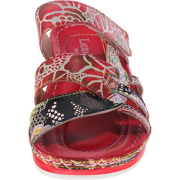 Laura Vita, Bruel Gute 058 Pantoletten, rot-kombi  Gute Bruel Qualität beliebte Schuhe 824f69