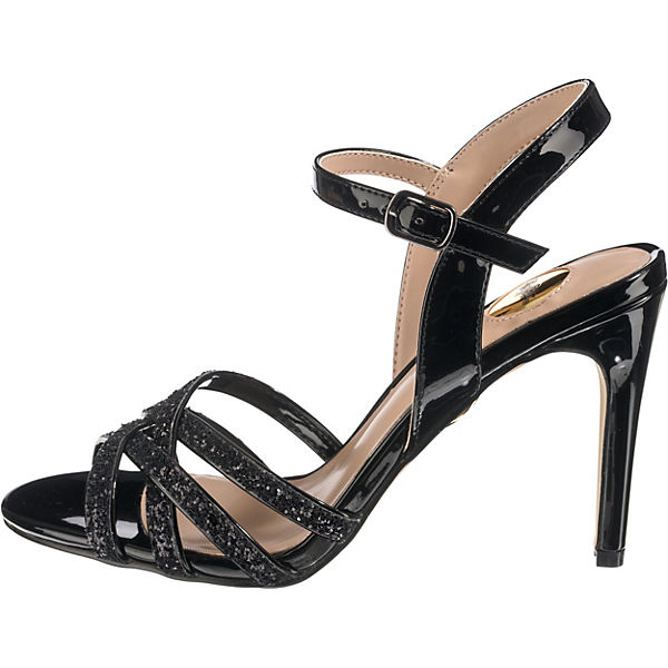 BUFFALO,  Riemchensandaletten, schwarz  BUFFALO, Gute Qualität beliebte Schuhe b39296