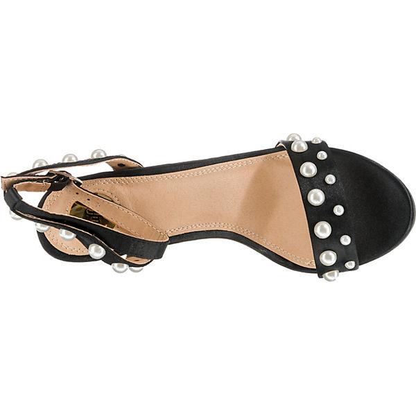 BUFFALO, Gute Klassische Sandaletten, schwarz  Gute BUFFALO, Qualität beliebte Schuhe 77cf64