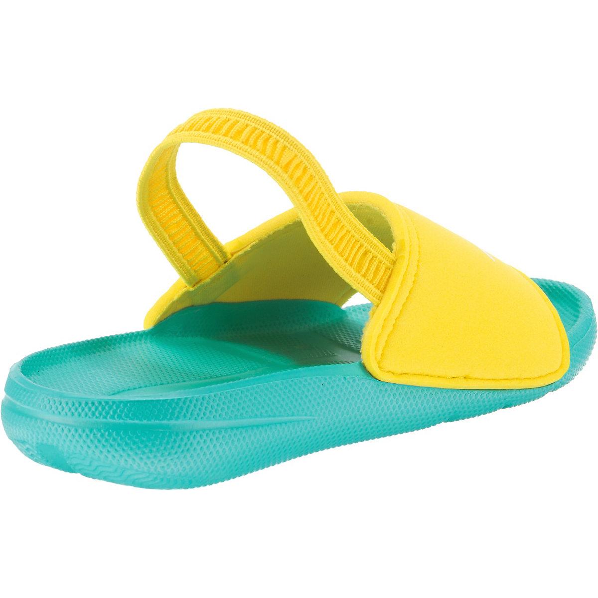 Speedo, Kinder Badelatschen Atami Sea Squad, Gelb