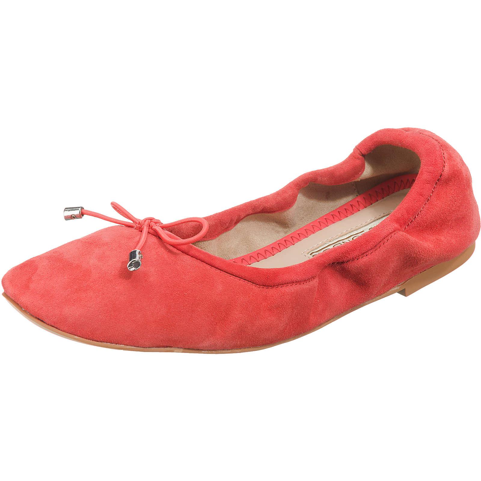 BUFFALO Faltbare Ballerinas rot Damen Gr. 41