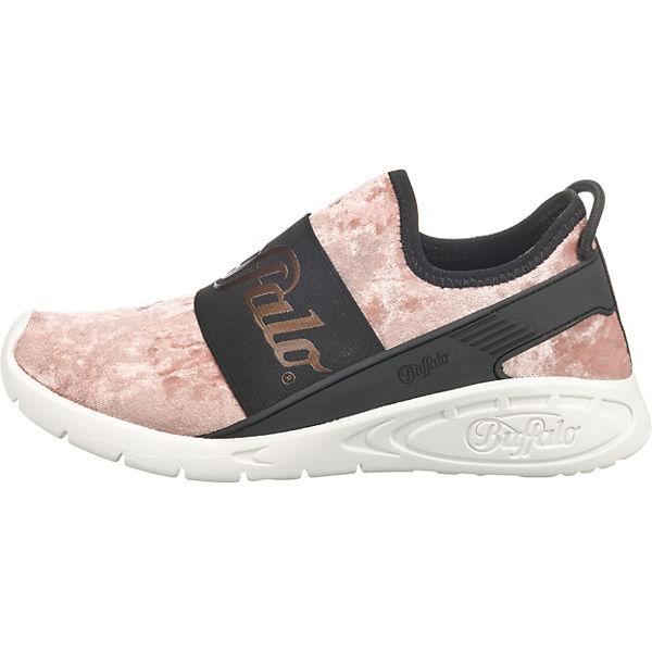 BUFFALO Sneakers BUFFALO Low Sneakers rosa schwarz UB0w1qx