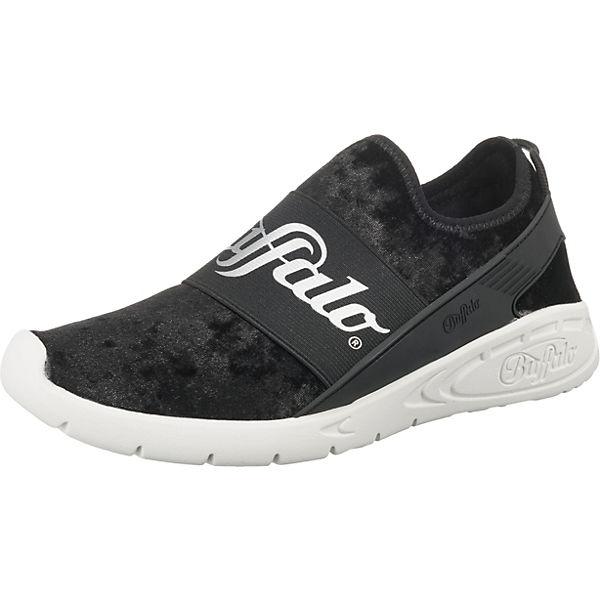 BUFFALO Sneakers Low weiß schwarz schwarz BUFFALO Sneakers BUFFALO weiß Sneakers schwarz Low Low rrqCxwz6O