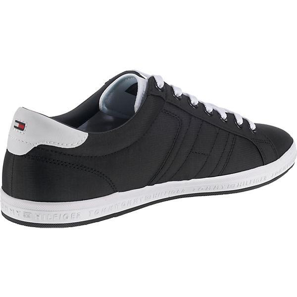 schwarz Low ESSENTIAL DETAIL FLAG TOMMY HILFIGER Sneakers SNEAKER 0qpRRY