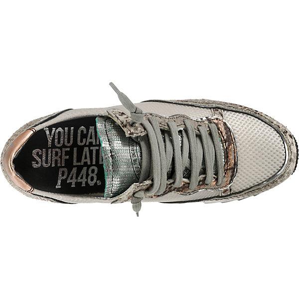 Low P448 Sneakers kombi kombi Sneakers Low P448 Weiß Weiß nPkwN08OX