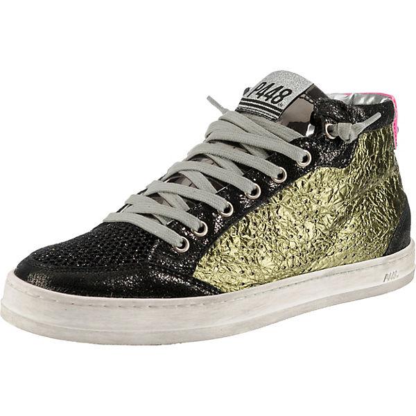 High P448 Sneakers Sneakers P448 High mehrfarbig mehrfarbig TqwXBX