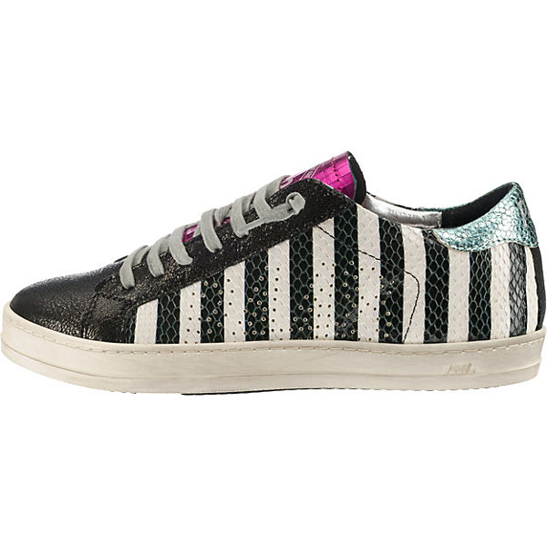 P448, Sneakers Sneakers Sneakers Low, schwarz-kombi   8958c3