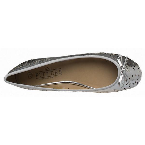 silber Fitters Footwear Zoe Klassische Ballerina XavwUx4gqY