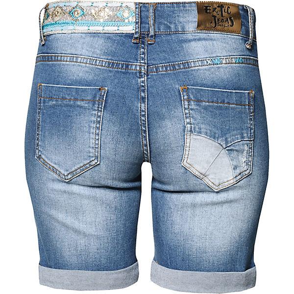 blau Jeansshorts Desigual Desigual Jeansshorts 8twqxpcvR