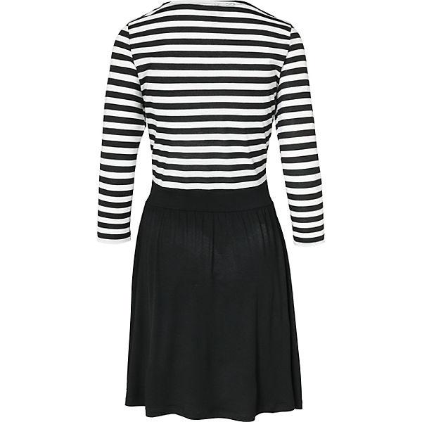 VERO VERO schwarz weiß Kleid MODA MODA CZOqf