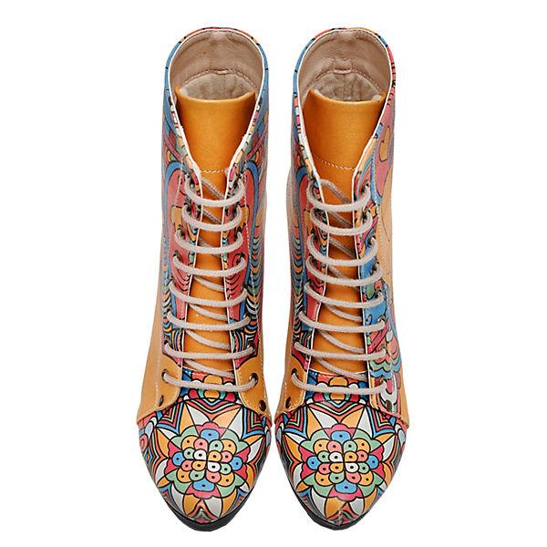 Dogo kombi Shoes Schnürstiefeletten Dogo rot Shoes wq1vxfz