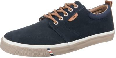 Icon Derby Sneakers, blau, dunkelblau Wrangler
