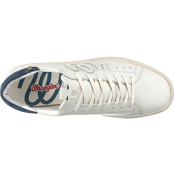 Modell Clever 1 Wrangler Sneakers weiß tw6T4xwgq