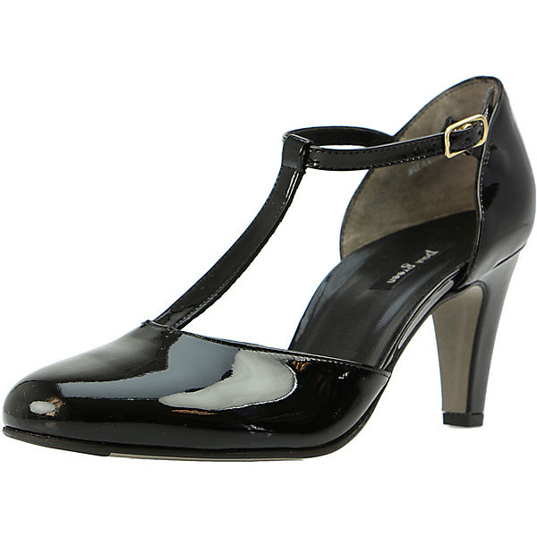 Paul Green T-Steg-Pumps schwarz