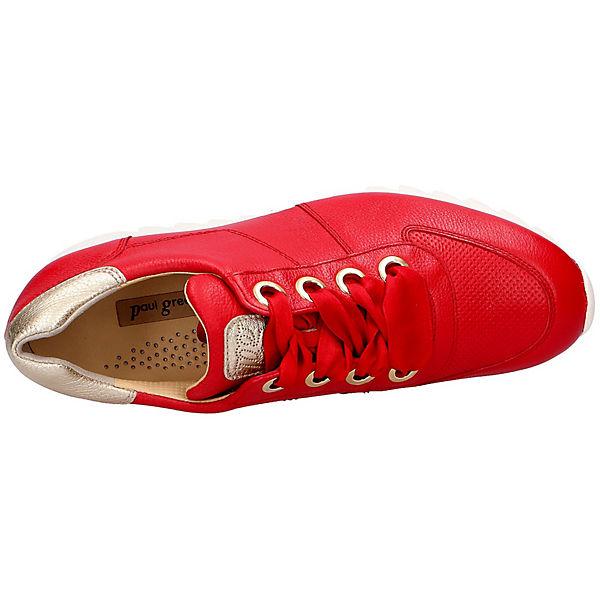 Paul  Green Sneakers Low rot  Paul Gute Qualität beliebte Schuhe 5e9e1e