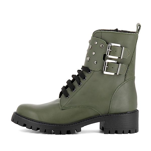 Biker VERA khaki Evita Boots Shoes SqwvnOaP8