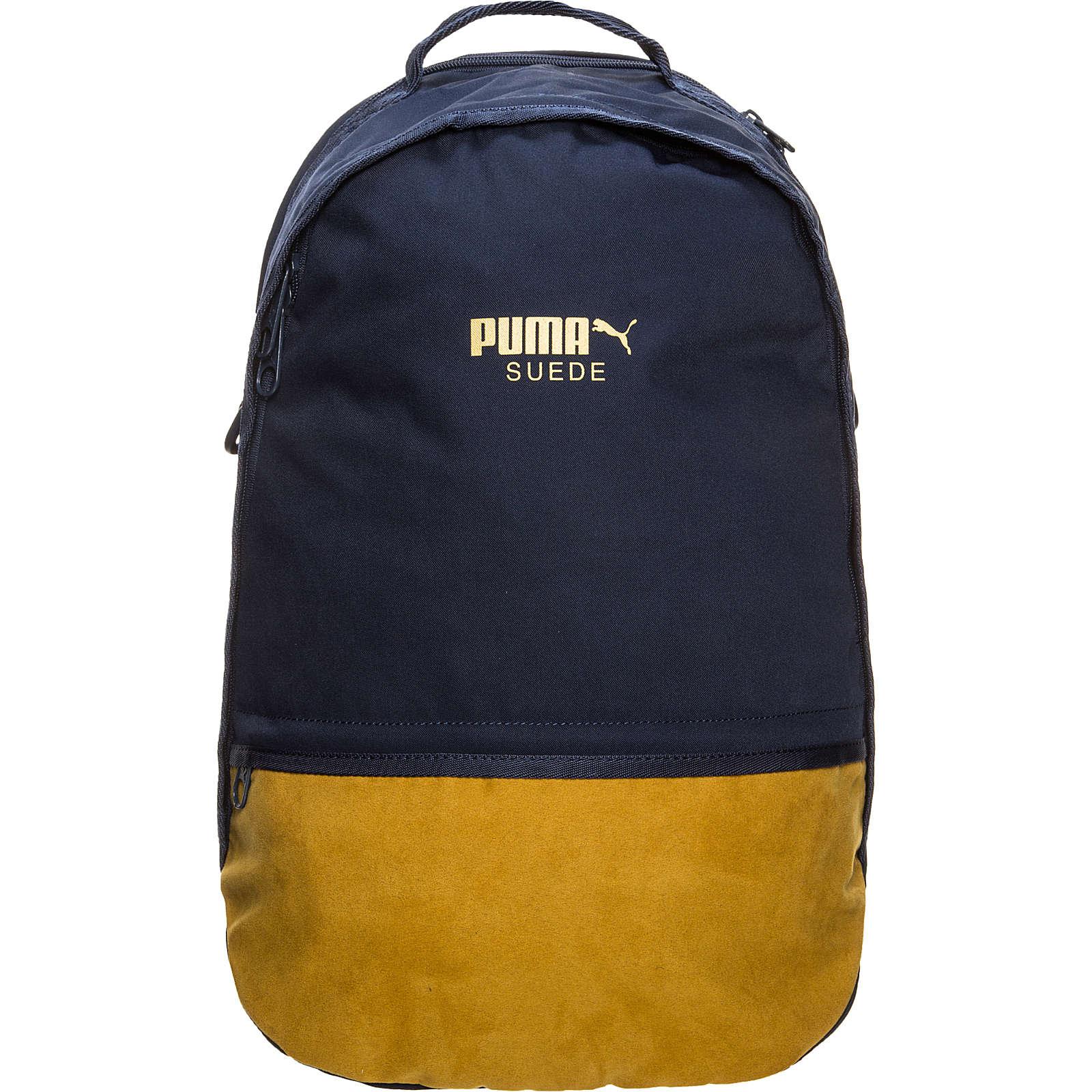 Sportrucksäcke Puma Suede blau/gelb