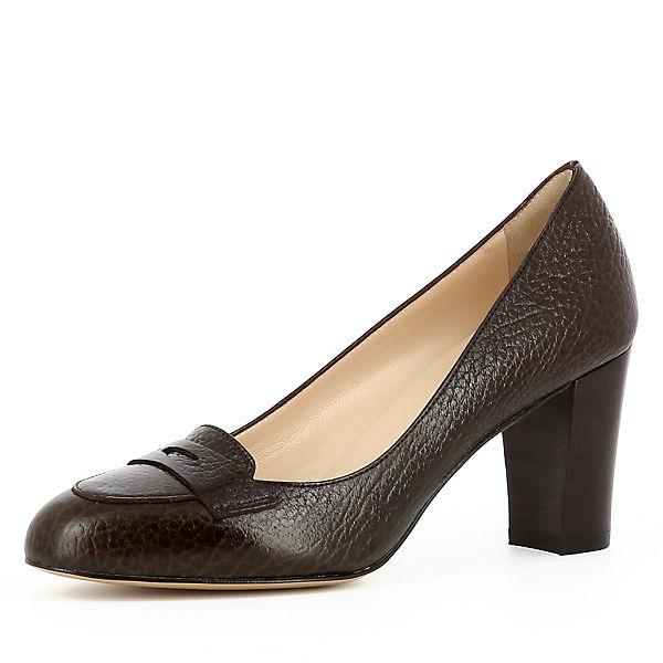 Evita Shoes Klassische Pumps BIANCA dunkelbraun