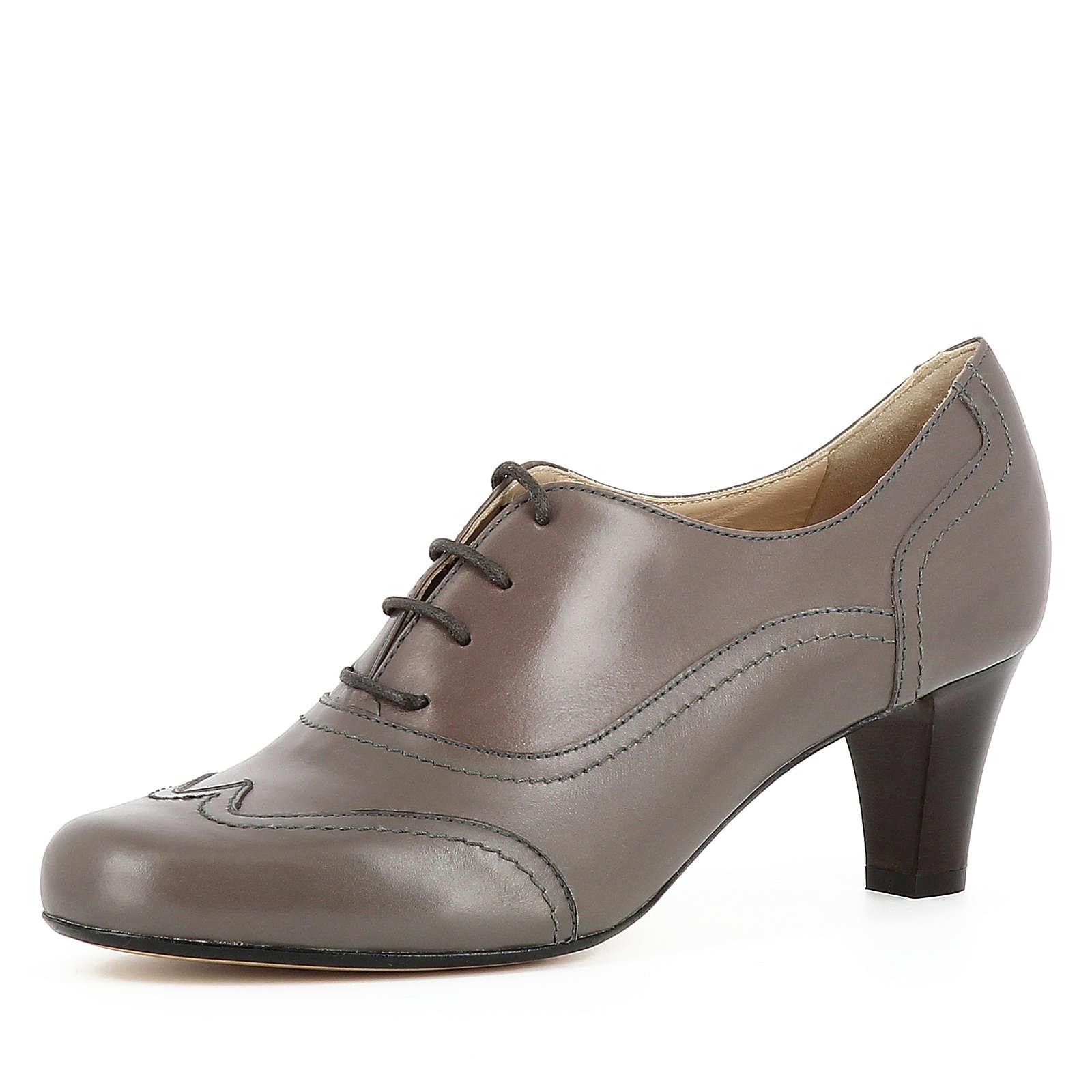Evita Shoes GIUSY Schnürpumps taupe Damen Gr. 35