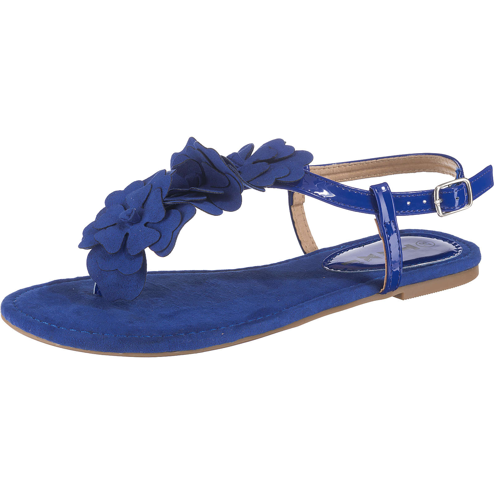Taxi Shoes Riemchensandalen blau Damen Gr. 40