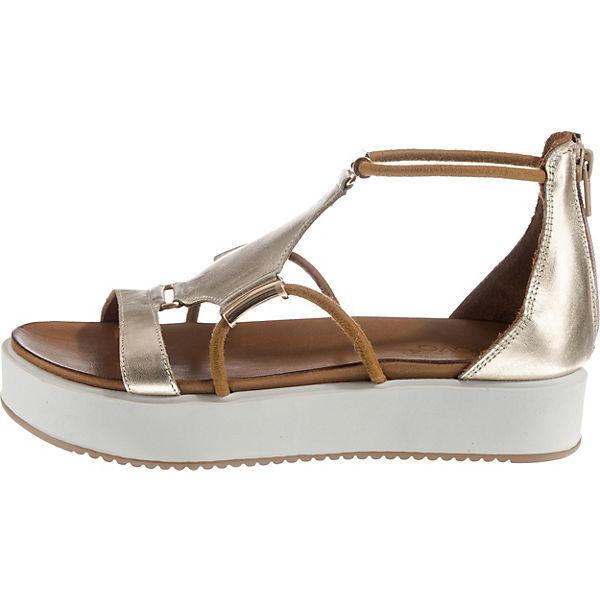 Klassische Sandalen gold Klassische Sandalen INUOVO gold Klassische INUOVO INUOVO Sandalen nFWUnxB1