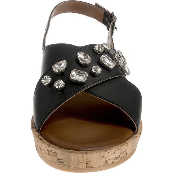 INUOVO Klassische Klassische Sandalen INUOVO Sandalen schwarz rqtnrSU