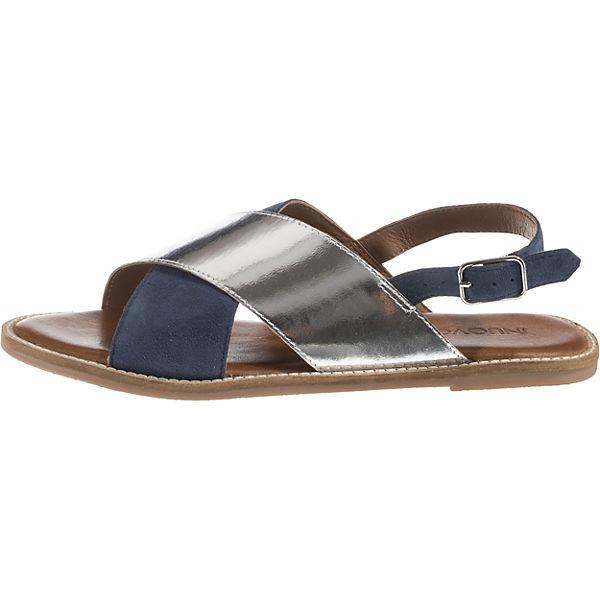 INUOVO, INUOVO, INUOVO, Klassische Sandalen, blau/silber  Gute Qualität beliebte Schuhe 4e293a