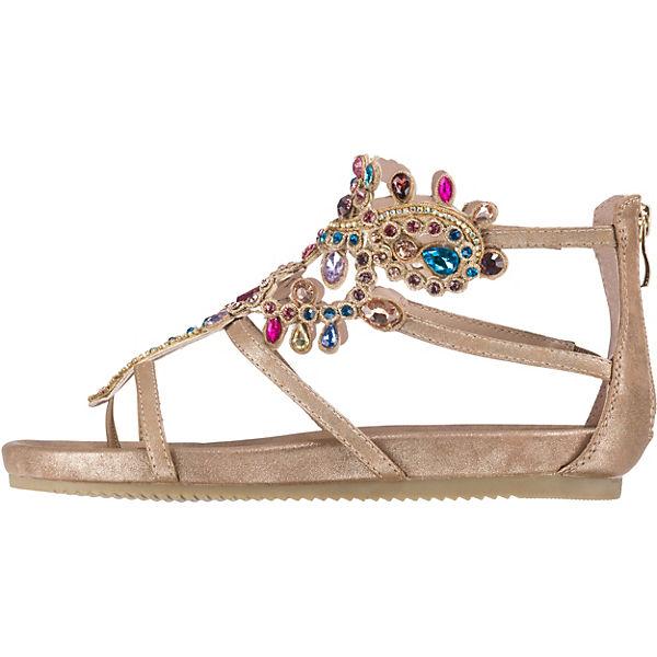 Alma en Pena T-Steg-Sandalen bronze  Gute Qualität beliebte beliebte beliebte Schuhe f07b6b