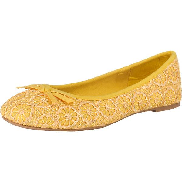 gelb Field 15UX1 Klassische Ballerinas 3165 Anna qHxpXRwq