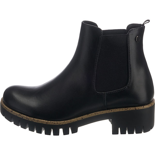schwarz Chelsea Field Y5008 Anna Boots q4OxgwP1W