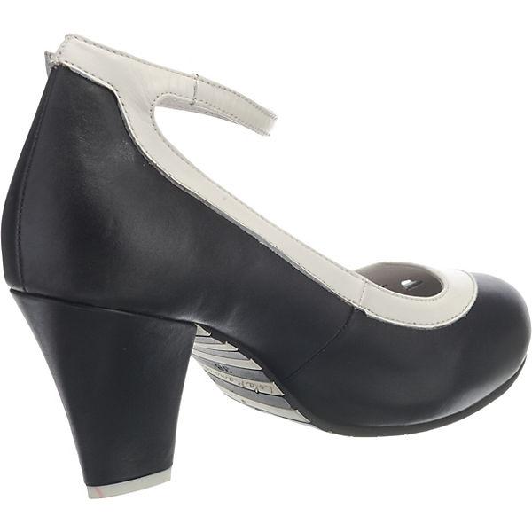 Lola Ramona, ELSA Spangenpumps, schwarz-kombi Schuhe  Gute Qualität beliebte Schuhe schwarz-kombi e9f6bf