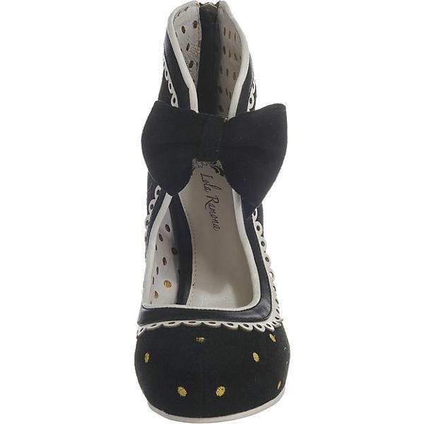 Lola Ramona ANGIE  Plateau-Pumps schwarz-kombi  Gute Qualität Qualität Qualität beliebte Schuhe 94acb9
