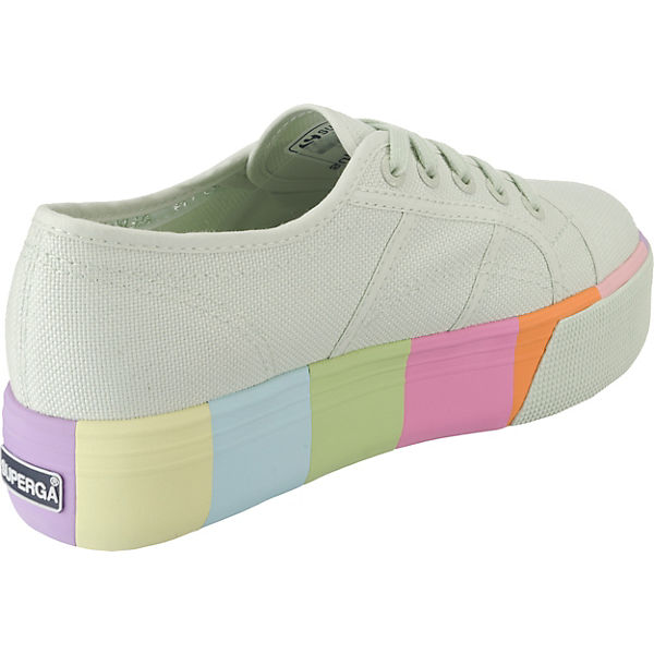 Superga®, 2790 Low, Cotmultifoxingw Sneakers Low, 2790 mint   8d6365