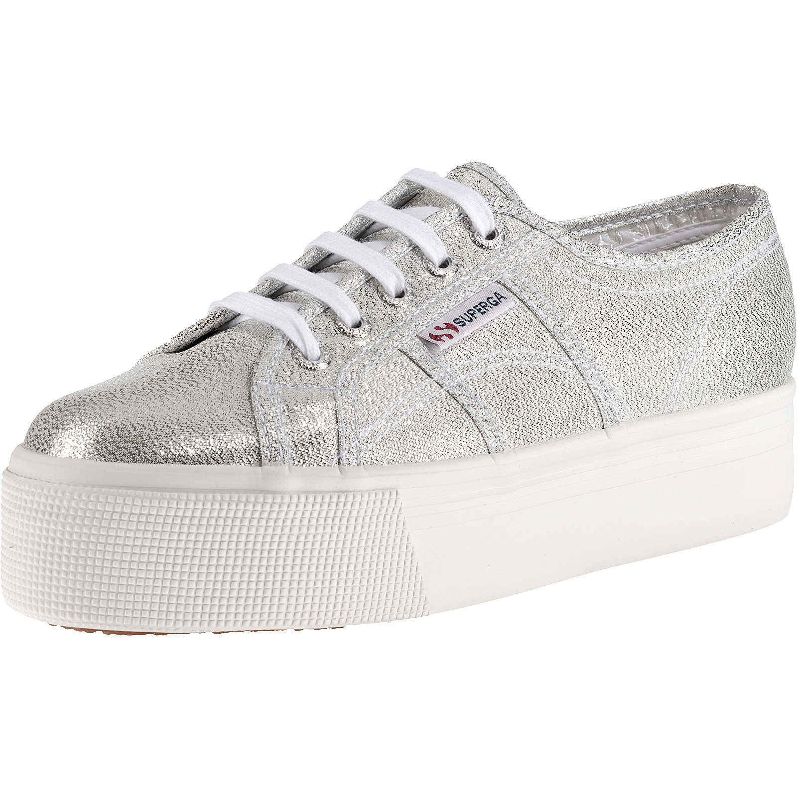 Superga® 2790 LAMEW Sneakers Low silber Damen Gr. 40