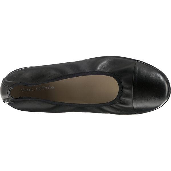 Marc O'Polo, Gute Klassische Ballerinas, schwarz  Gute O'Polo, Qualität beliebte Schuhe 270539