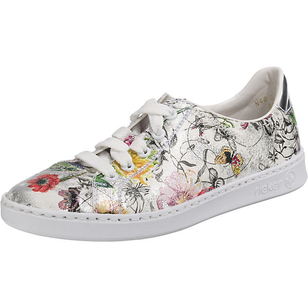 mehrfarbig Sneakers rieker Low Mirror Bouquet PYqXIwR