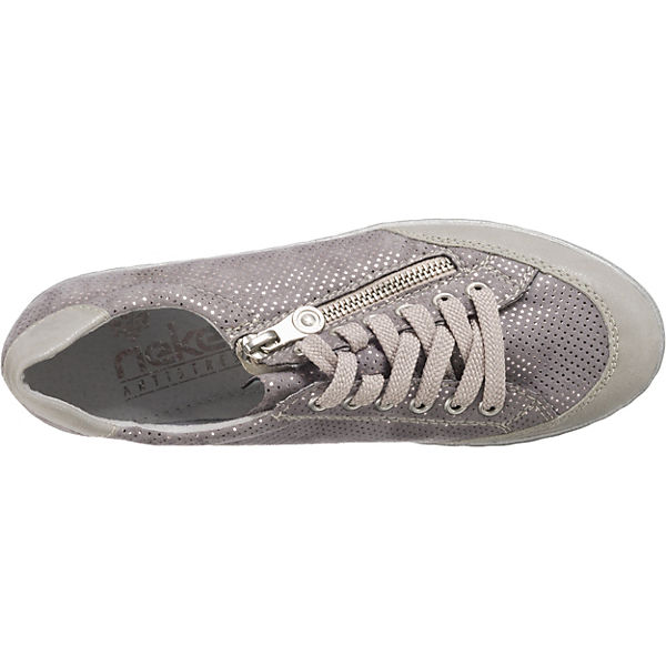 Sneakers rieker grau Puntito Vigo Low ArwATqZE