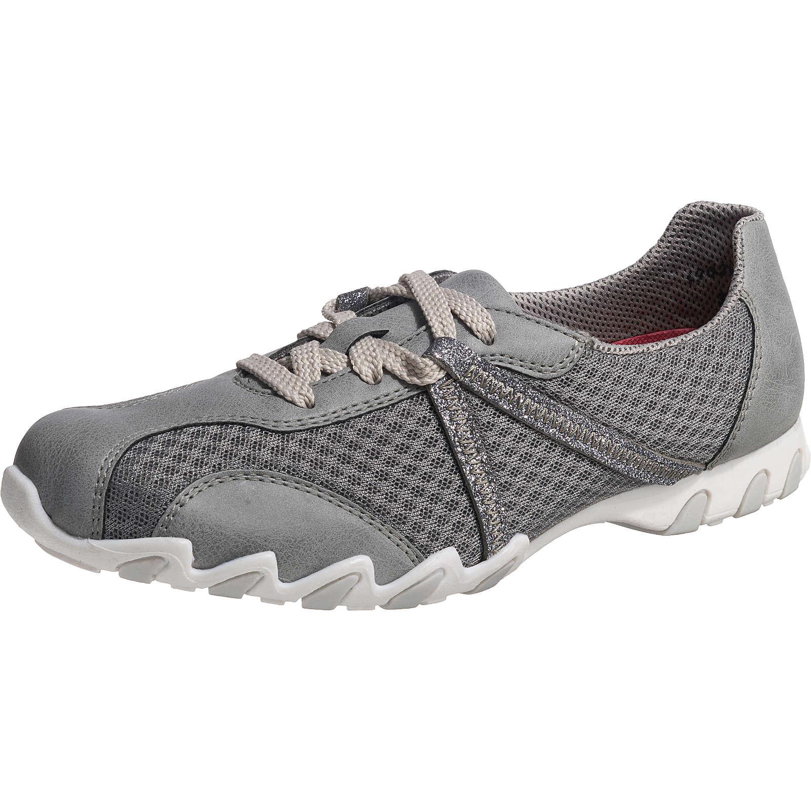 rieker Brindis/Aerea/Galassia Sneakers Low grau Damen Gr. 36